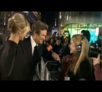 Gambit: Colin Firth, Cameron Diaz - On the Red Carpet,Premiere, London, 7 November 2012