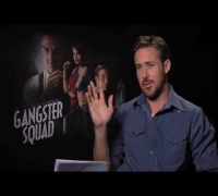 GANGSTER SQUAD interviews with Ryan Gosling, Emma Stone Anthony Mackie, Robert Patrick