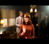 Gangster Squad - Ryan Gosling and Emma Stone joke on set