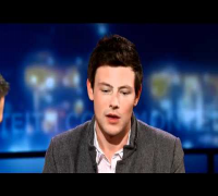 George Tonight: Cory Monteith on Coming Clean about his Troubled Past