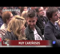 gerard pique Shakira in the presentation of the new book of his father Joan Pique in Barcelona, ​​Spain (March 14, 2013)