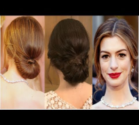 Get Anne Hathaway's Oscars Red Carpet Hairstyle