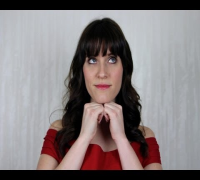Get The Look: Zooey Deschanel Inspired Hair, Makeup, and Fashion Tutorial - New Girl Jess