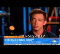 Glee Cory Monteith Tribute | Glee pays tribute to Cory Monteith in memorial episode