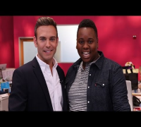 """Glee Star Alex Newell Says """"It's Hard"""" Dealing With Cory Monteith's Death 