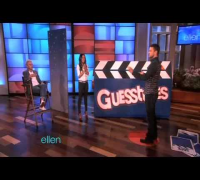 Guesstures with Justin & Mila on Ellen Show