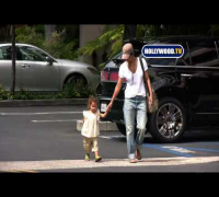 Halle Berry and Daughter Nahla Out And About In Los Angeles