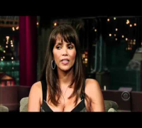 Halle Berry ~ David Letterman (2007-10-12)