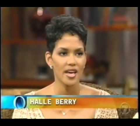 Halle Berry discusses her suicide attempt and promotes  BAPS    Part One of Four