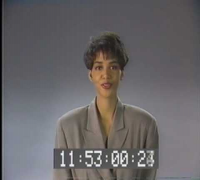 Halle Berry Doing a TV spot for WZAK