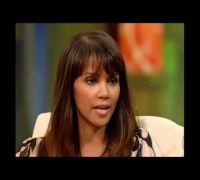 Halle Berry interviewed while pregnant discussing her love for Gabriel Aubrey
