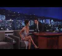Halle Berry on Jimmy Kimmel Live PART 1