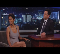 Halle Berry on Jimmy Kimmel Live PART 3
