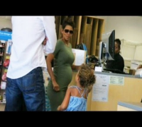 Halle Berry Papped By a Super Spy!