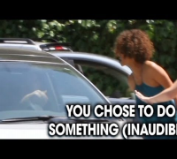 Halle Berry screams at paparazzi