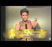Halle Berry winning Best Actress