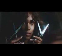 "Halle Berry's self-cut in ""CATWOMAN"""