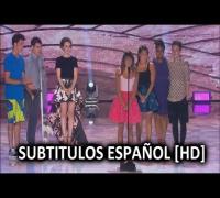 [HD] Lea Michele [Glee] Talking About Cory Monteith at TCA 2013 | Subtitulos Español | Subtitulado
