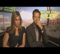 Hilarious video: Jennifer Aniston plays penis pictionary during We're The Millers interview!