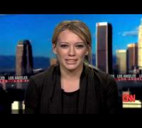 """Hilary Duff on CNN - """"Thats So Gay"""" ThinkB4YouSpeak !"""