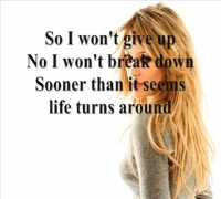 Hilary Duff - Someone's watching over me (lyrics)