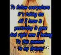 Hilary Duff - Someone's Watching Over Me   Lyrics