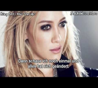 Hilary Duff - Who's That Girl - German lyrics | Deutsche Übersetzung