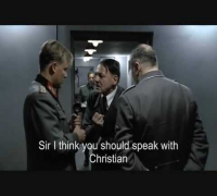 Hitler On The Phone With Christian Bale