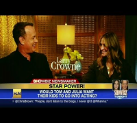 HLN Official Interview: Julia Roberts, Tom Hanks open up