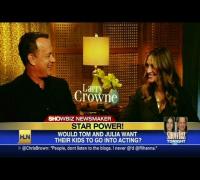 HLN Official Interview: Julia Roberts, Tom Hanks open up