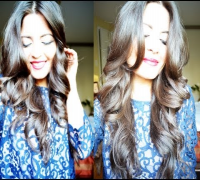 How To: Megan Fox Inspired Wavy Hair