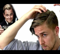 How to style like The Great Gatsby Leonardo DiCaprio hair style with Hairbond Sculptor