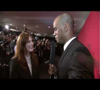 HUGO Fashion Show Fall/Winter 2012 - Julianne Moore Red Carpet Interview
