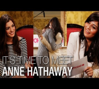 I'm a Huge Fan! - I'm a Huge Fan Anne Hathaway: Anne Talks Glee, Matt Damon, and Her Dream of Singing With Adele!