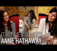 I'm a Huge Fan! - I'm a Huge Fan Anne Hathaway: Anne Talks Glee, Matt Damon, and Her Dream of Singing With Adele!
