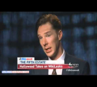 In This Week interview Benedict Cumberbatch talks about The Fifth Estate movie