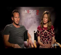 'Insidious Chapter 2' Interview: Rose Byrne & Patrick Wilson Part 1