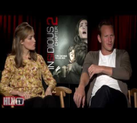 INSIDIOUS CHAPTER 2 interview: Rose Byrne & Patrick Wilson
