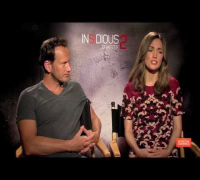 Insidious: Chapter 2 Interview With Patrick Wilson, Rose Byrne And More [HD]