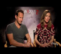 'Insidious Chapter 2' Interview With Rose Byrne & Patrick Wilson: Part 1