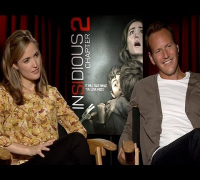 Insidious Chapter 2: Leigh Whannell, Rose Byrne, Patrick Wilson & More Preview the Terrifying Sequel