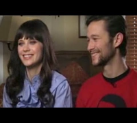 Interview Joseph Gordon-levitt and Zooey Deschannel - With Peter Travers