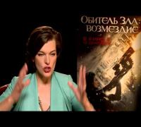 Interview Milla Jovovich - Resident Evil: Retribution (engl.)