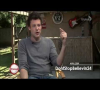 Interview of Cory Monteith for ET Canada