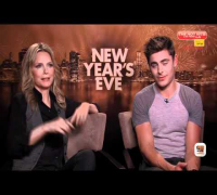 Interview: Zac Efron & Michelle Pfeiffer - 'New Year's Eve'