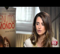 "Intervista RDS: Penelope Cruz protagonista di ""Venuto al Mondo"""