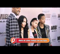 Jada Smith, esposa de Will Smith, habla sobre Madagascar 3, en Cine Glam