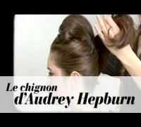 Je me fais le chignon d'Audrey Hepburn