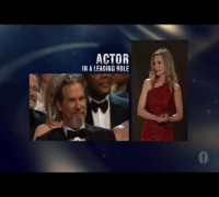 Jeff Bridges winning Best Actor