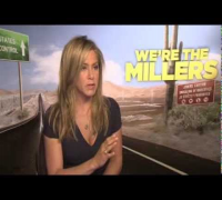 Jennifer Aniston We're The Millers Interview with Sean Munsanje